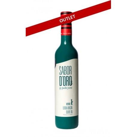 Aceite de Oliva Virgen Extra SABOR DE ORO by pedro yera Verde 500 ml